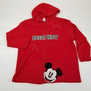 Vintage Disney Mickey Mouse Fleece Hoodie - 1X 16W